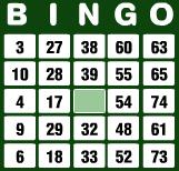 bingo numerot